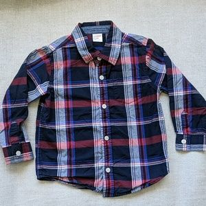 Gymboree Toddler Button Down Long-Sleeve